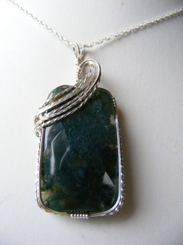 Moss agate deluxe