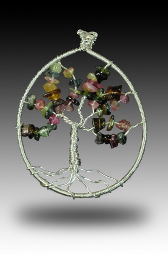 Tourmaline Tree of Life