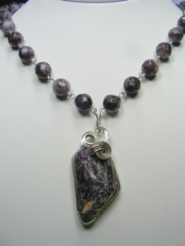 Purple Charoite Softness