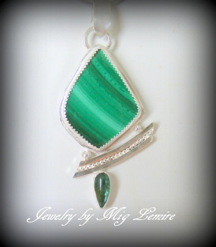 Malachite/Tourmalime Desire