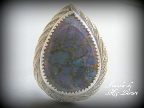 Purple Mohave Turquoise