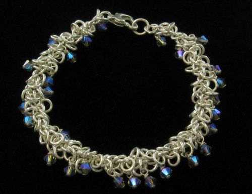 shaggy loop bracelet